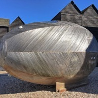 Stephen Turner's Exbuey Egg, Jerood Gallery, Hastings, 2017