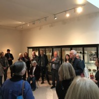 Everything Comes from the Egg, exhibition launch, Jerwood Gallery, Hastings, 2017