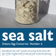 Stephen Turner, Exbury Salt, 251gms of salt from 20 litres of river water, Limited Edition 1 of 2, 2014